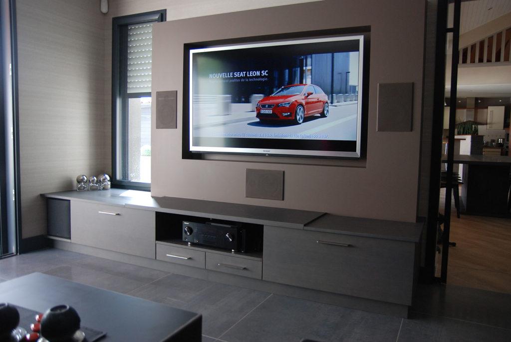 Intégration TV et Son Home Cinéma