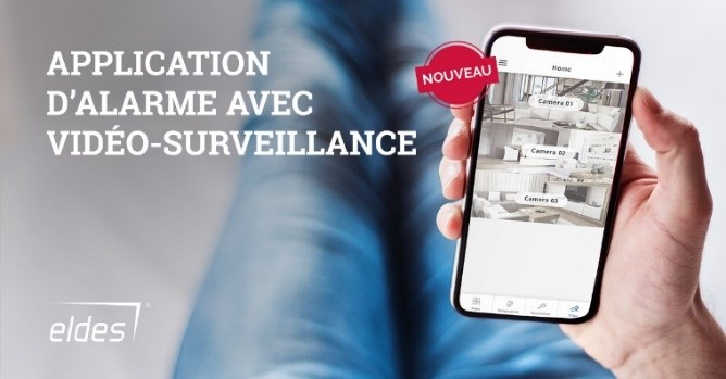 Application smartphone alarme et cameras