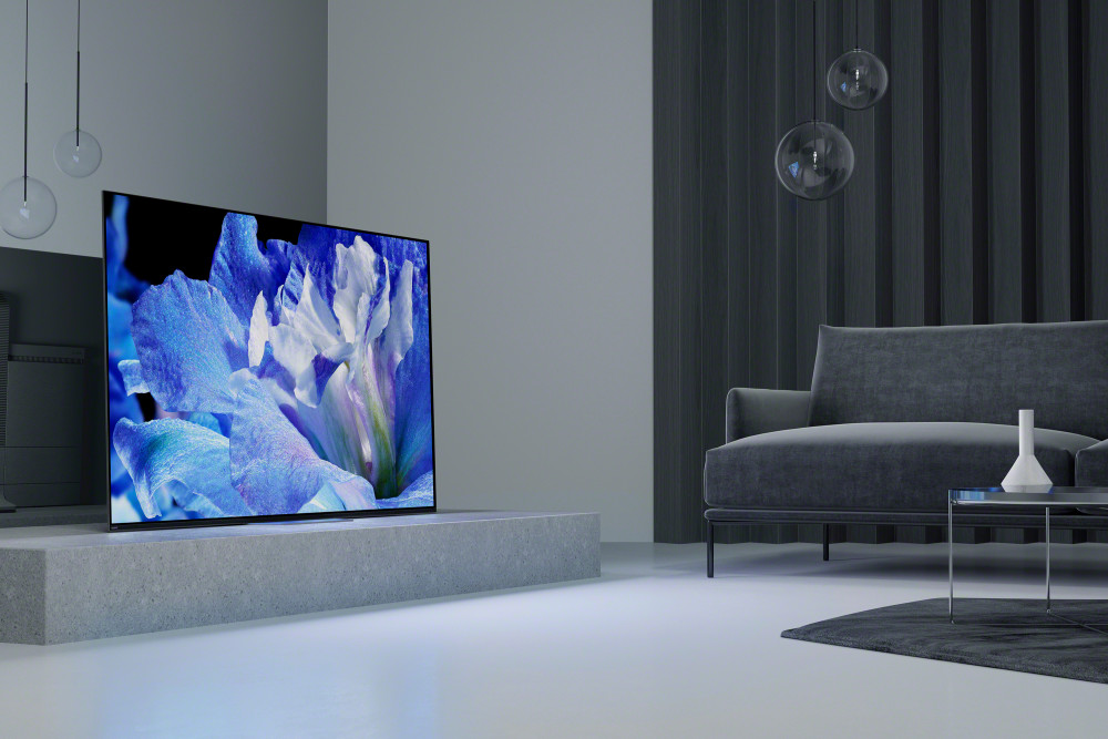 SONY BRAVIA OLED avec dalle sonore !
