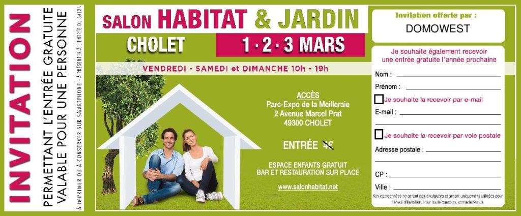 salon de l habitat Cholet 1.2.3 mars 2019