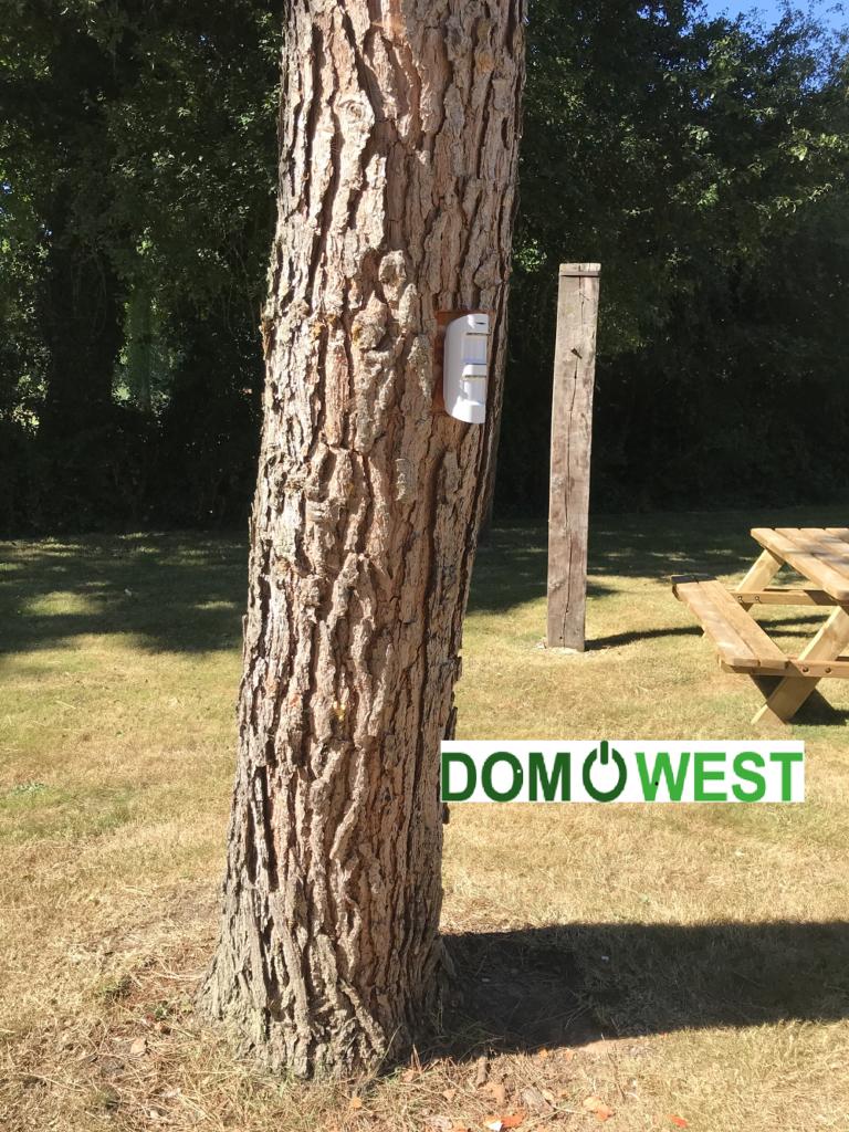 détecteur extérieur AJAX pour habitat par Domowest